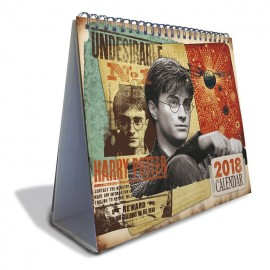 Calendario Sobremesa Deluxe 2018 Harry Potter