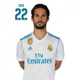Postal Real Madrid 2017/2018 Isco Busto