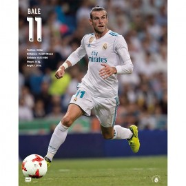 Mini Poster Real Madrid 2017/2018 Bale Accion