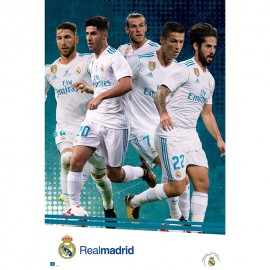 Poster Real Madrid 2017/2018 Grupo Accion