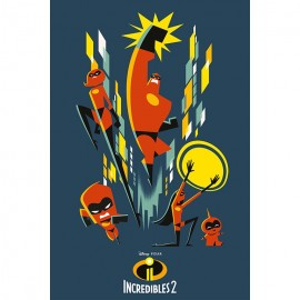 Poster The Incredibles 2 Grupo