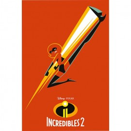 Poster The Incredibles 2 Mrs Incredible