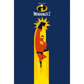 Poster The Incredibles 2 Mr Incredible
