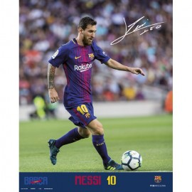 Mini Poster Fc Barcelona 2017/2018 Messi Accion