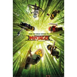 Poster Lego Ninjago Movie Bamboo