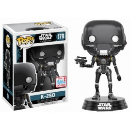 Pop Bobble Star Wars Rogue One Battle Damaged K-2So Nycc 2017 (Exc)