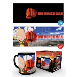Mug Heat Changing One Punch Man Saitama