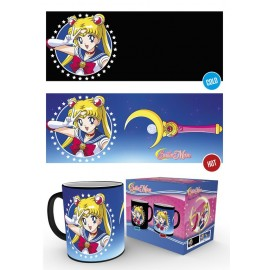 Mug Heat Changing Sailor Moon Moonstick