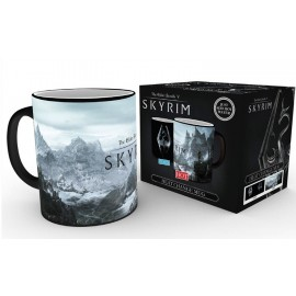 Mug Heat Changing Skyrim Dragon Symbol