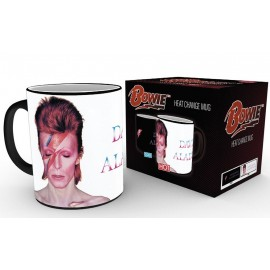 Mug Heat Changing David Bowie Aladdin Sane