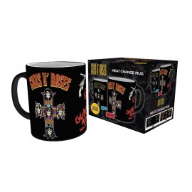 Mug Heat Changing Guns And Roses Cross