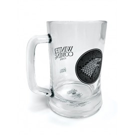 Mug Barrel Cristal Game Of Thrones Stark