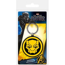 Keychain Black Panther Logo
