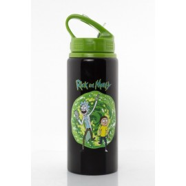 Drink Bottle Alu Rick & Morty Portal