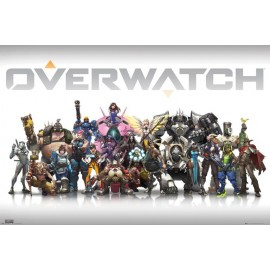 Poster Overwatch Characters