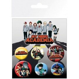Pack De Chapas My Hero Academia Mix