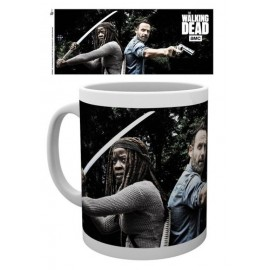 Taza The Walking Dead Rick And Michonne
