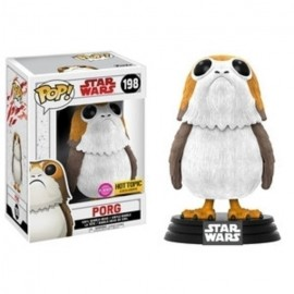 Pop Bobble Star Wars Viii Porg Flocked