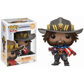 Pop Vinyl Overwatch Usa Mccree (Exc)