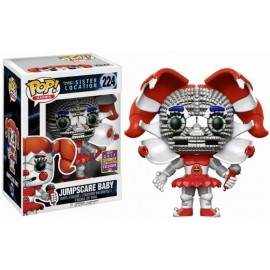 Pop Vinyl Games Fnaf Jumpscare Baby Sdcc 2017 Exc