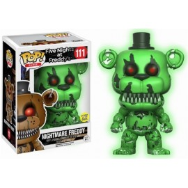 Pop Vinyl Games Fnaf Freddy Green Gitd Exc