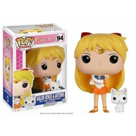 Pop Vinyl Sailor Moon Sailor Venus And Artemis