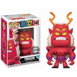 Pop Vinyl Teen Titans Go Trigon Exc