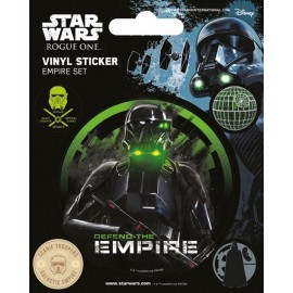 Pegatina Vinyl Star Wars Rogue One Empire