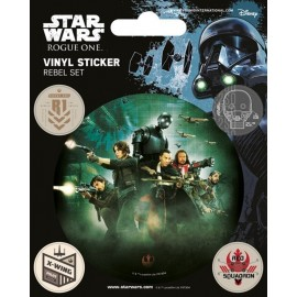 Pegatina Vinyl Star Wars Rogue One Rebel