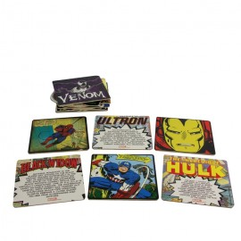 Coasters Marvel Comics