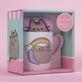 Sock In A Mug Unicorn Pusheen