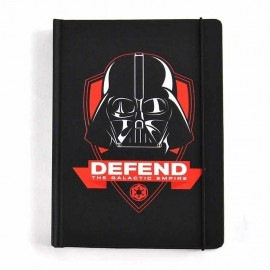 Notebook A5 Star Wars Darth Vader Icon