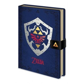 Notebook A5 Premium Zelda Hylian Shield
