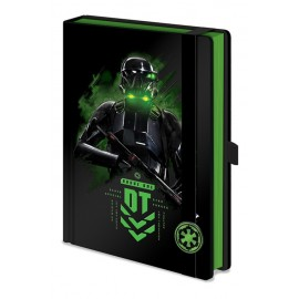 Notebook A5 Premium Star Wars Rogue One Death Trooper