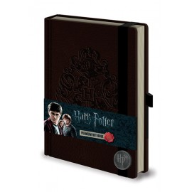 Notebook A5 Premium Harry Potter Hogwarts Crest
