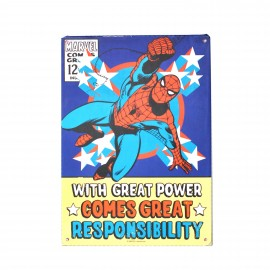 Tin Sign Marvel Spiderman