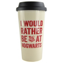Travel Mug Harry Potter Hogwarts Slogan