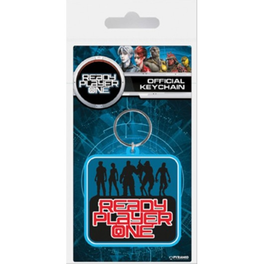 Keychain Rubber Ready Player One Players Ready