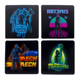 Coasters Ready Player One 3D