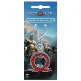 Keyring God Of War Serpent Bottle Opener