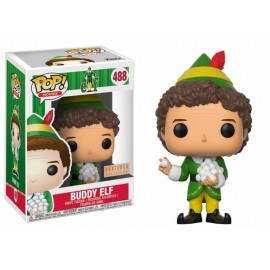 Pop Vinyl Elf Buddy With Snowballs