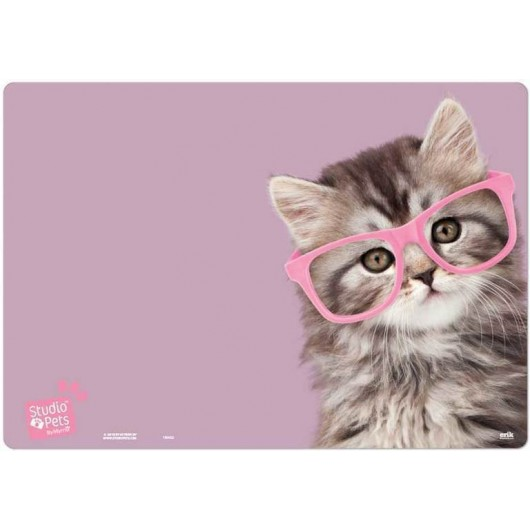 Vade Escolar Studio Pets Cat Glasses