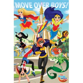 Poster Dc Super Hero Girls (Move Over Boys)