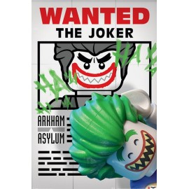 Poster Lego Batman Wanted The Joker