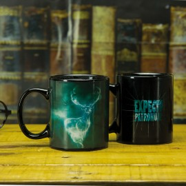 Taza Mug Heat Change Harry Potter Patronus