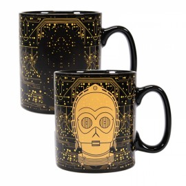 Taza Heat Changing Star Wars C3Po