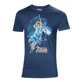 Camiseta The Legend Of Zelda Breath Of The Wild Link Bow