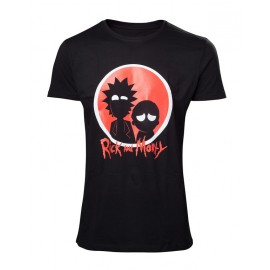 Camiseta Rick & Morty Big Red Logo