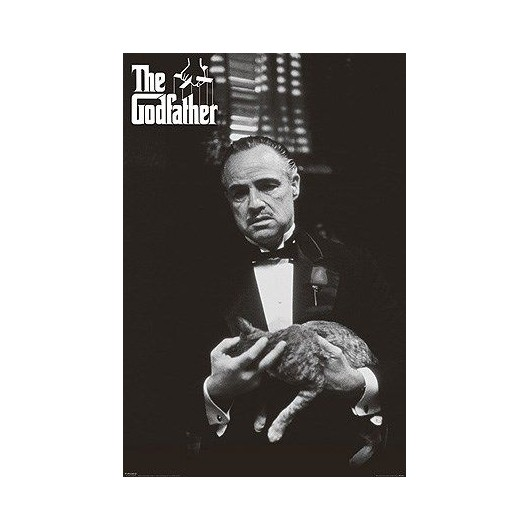 Maxi Poster The Godfather (Cat B&W)