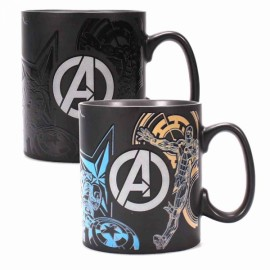 Taza Heating Change Marvel Avengers